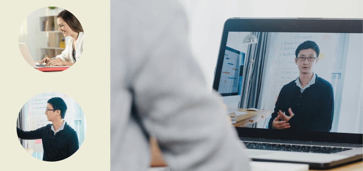 ライブ型オンライン日本語研修の日本語ブリッジ